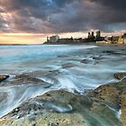 Early Morning at Cronulla by Malcolm Katon