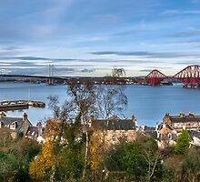 The Forth bridges by Beautiful Edinburgh