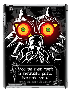 Majoras Mask - Meeting With a Terrible Fate by tchuk