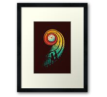 Journey of a thousand miles Framed Print