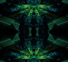 Fractal mirror by Manafold Art
