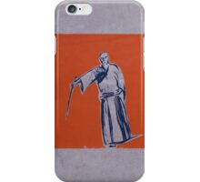 Iaido orange iPhone Case/Skin