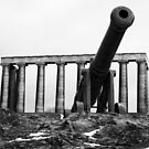 Calton Hill Cannon by Matthias Keysermann