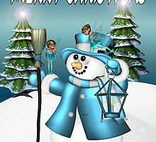 Snowmans Christmas  by LoneAngel