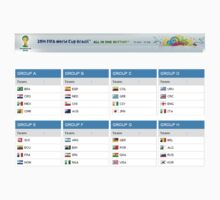 World Cup Groups by refreshdesign