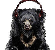 Sloth Bear by Squishysquid