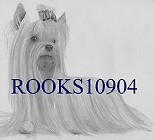 Yorkshire Terrier SHOW DOG ART PRINT by rooks10904