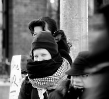 War Protester  by Mark Jackson