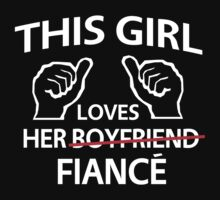 This girl loves her fiance by bridal