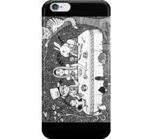 Mad Hatters Tea Party iPhone Case/Skin