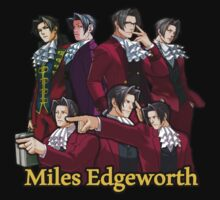 Miles Edgeworth by LegendDestroye