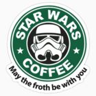 Star Wars Coffee Clothing by RobinThornton