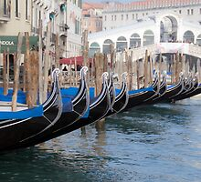 Venice's gondolas  by milena boeva