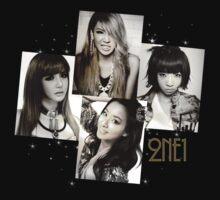 2NE1 by Ebeelily