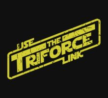 Use the Triforce Link by TeeHut