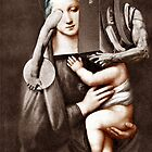 Madonna with Child 31. by Andrew Nawroski