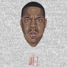 Jay-Z  by Britt Manning