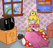 Peach and Pong by McMoonie
