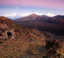 Haleakala Crater, Maui by Michael Treloar