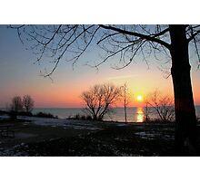 winter sunRise.. Photographic Print