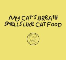 My cat's breath smells like cat food by tdx00