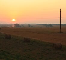 North Dakota Sunrise by Gary Horner
