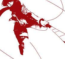 Mikasa Ackerman by schewy
