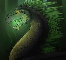 Archeas the Black Dragon by Valerie Shannon