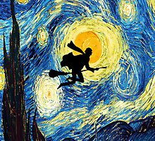 Harry Potter's Starry Night by hannahrain by hannahrain