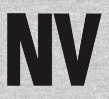 Nevada NV Black Ink by FreshThreadShop