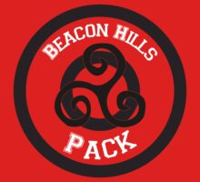 Beacon Hills Pack T-shirt by Neitzarr