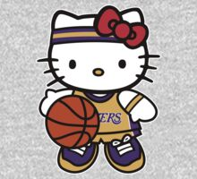 Hello Kitty Loves The Los Angeles Lakers! by endlessimages