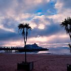 Bournemouth Pier Under Clouds by delros