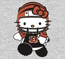 Hello Kitty Loves The Cincinnati Bengals! by endlessimages