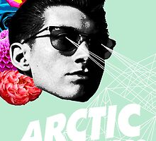 Arctic Monkey - Alex Turner by Madison Rankin