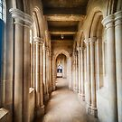 Cathedral Corridor III by Ray Warren