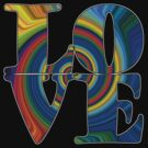 color spiral square love t by dedmanshootn
