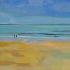 Isle de Re Beach by Anita Dore