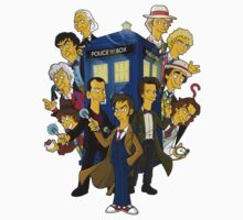 Dr Who - 11 doctors simpsonized by kazkami