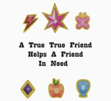 My Little Pony - A True True Friend (Light Shirt) by BlueBeasts