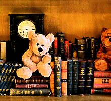 The old library with grumpy bears by ©The Creative  Minds