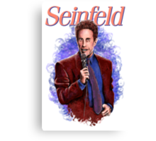 Jerry Seinfeld - TV Comedy Legend Canvas Print