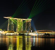 Singapore Marina Bay Sands by HuyLuu