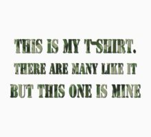 Full metal jacket - This is my T-shirt by Lamamelle
