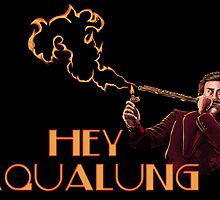 Ron Burgundy - Hey Aqualung by uberdoodles