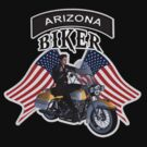 Arizona Biker by Walter Colvin