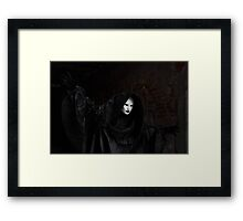 Venetian Carnival: Ghost of Carnival Framed Print