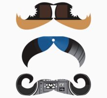 Los Mustachos by intrudesigns