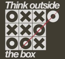 Think outside the box (white) by buud