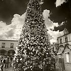 ©MS The Christmas Tree In Tlalpujahua IA Monochromatic by OmarHernandez